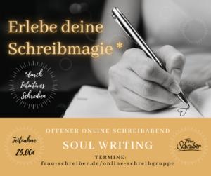 Erlebe deine Schreibmagie