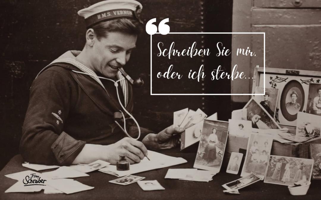 Heute Briefe schreiben: Sei altmodisch und ganz persönlich